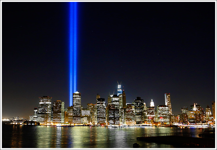 Tribute In Light 9/11/12